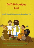 DVD - B-boekjes Geel: Jozef, Daniël, Bartimeüs, Brood en vis  30'