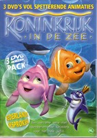 DVD - pack Koninkrijk in de zee