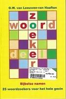 BOEK - Woordzoekers 1 - geel