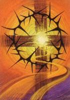 DK MS Het kruis met de doornenkroon - Cross & Thorns  dubbele kaarten
