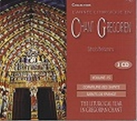 CD - Chant Grégorien  Volume 15 - CD 30, 31 & 32