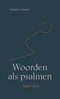 BOEK - Woorden als psalmen