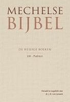 BOEK - Bijbel - Mechelse Bijbel - Job & Psalmen