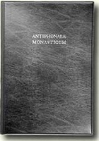 BOEK - Antiphonale Monasticum - Tome I