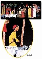 P Nativity  98/44 cm